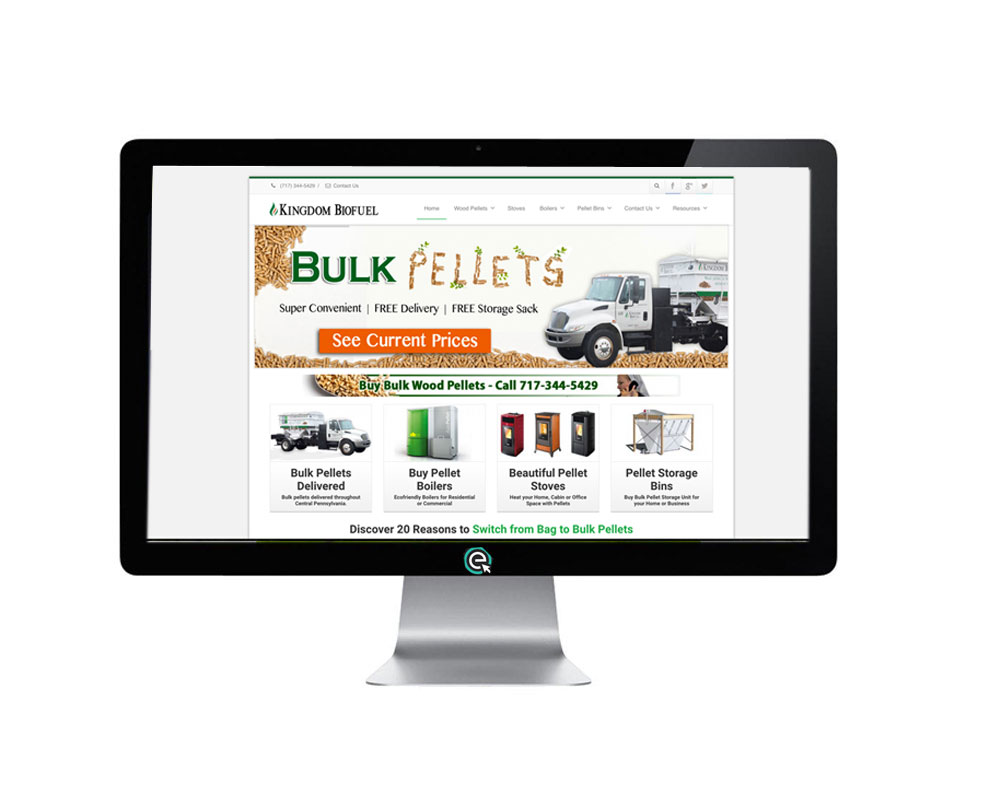 Responsive Website Design and SEO for BioFuel