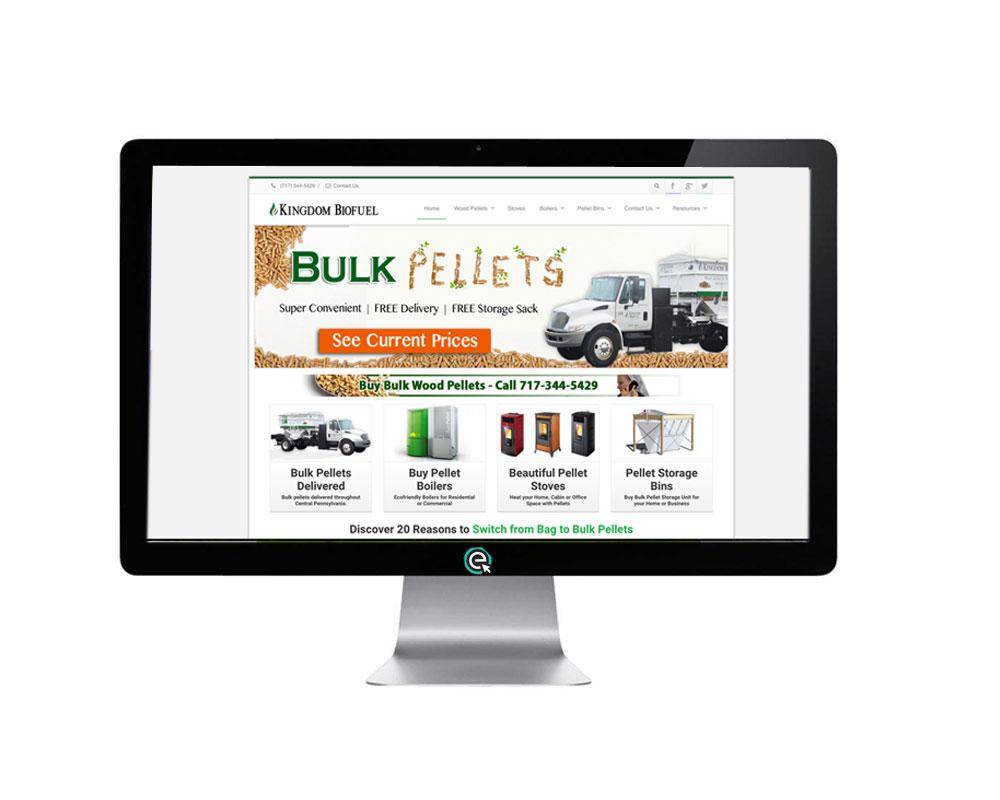 Responsive Website Design and SEO for BioFuel