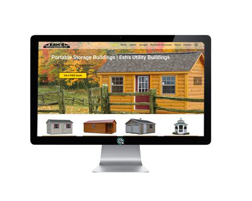 Shed Website Builder in KY