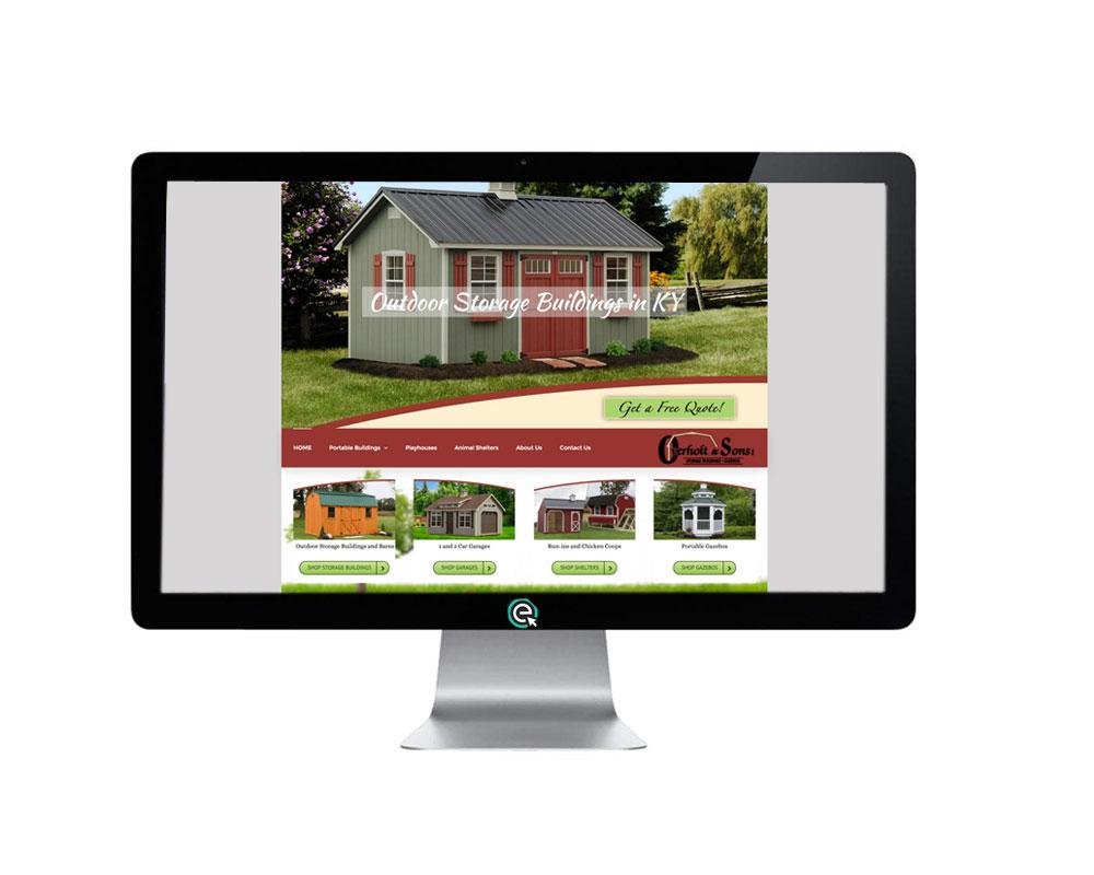 Responsive Web Design for Sheds