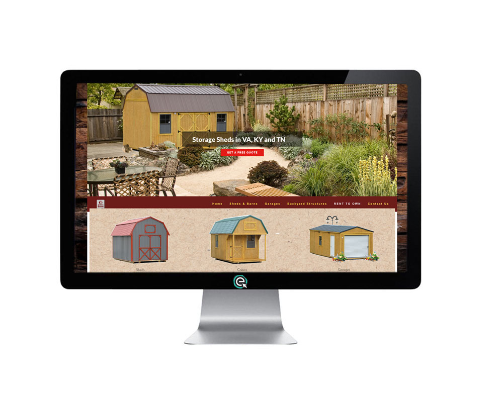 Storage Shed Website Design Company