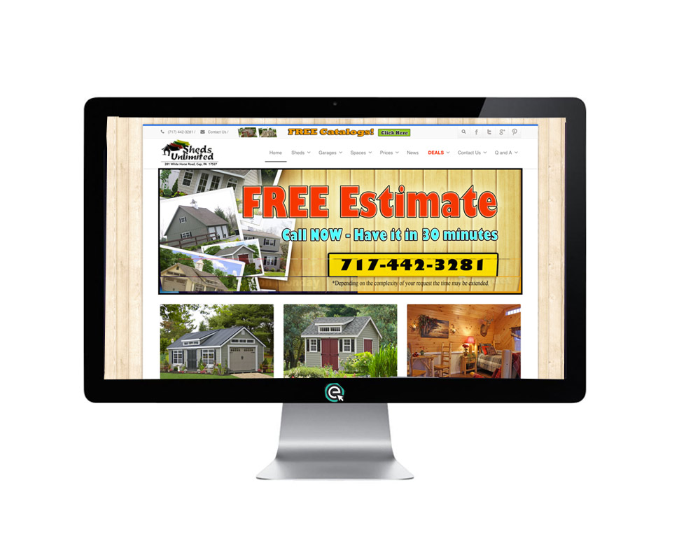 Shed and Garage Marketing in PA, NJ, NY, CT, DE, VA and WV