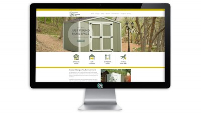 Shed Website for Shed Builder in CO