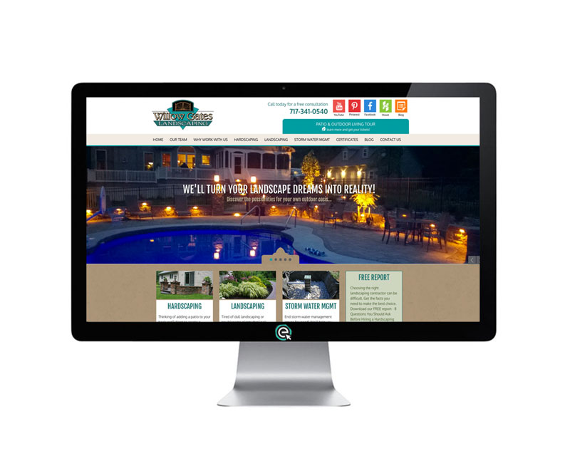 Website for a Landscaper in PA