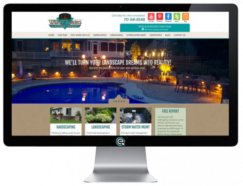 Landscaper in Lancaster PA Unveils Updated Website | Willow Gates Landscaping