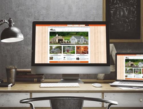 Web Design and Marketing Plan for Sheds Unlimited LLC