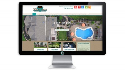 Find a Web Developer for a Landscape Company