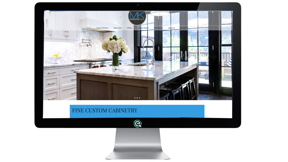Kitchen Cabinet Website Marketing