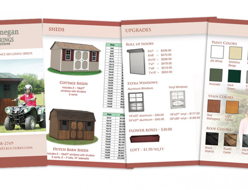 Dunnegan Sheds Catalog