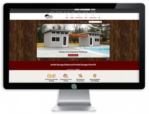 Sheds Unlimited Website