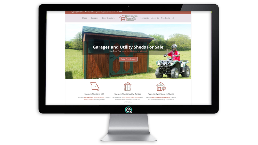 Shed Website Company in MO