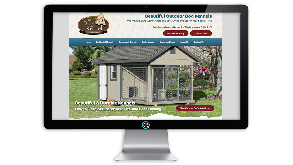 Website Builder for Dog Kennels