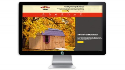 Shed Website Design OH