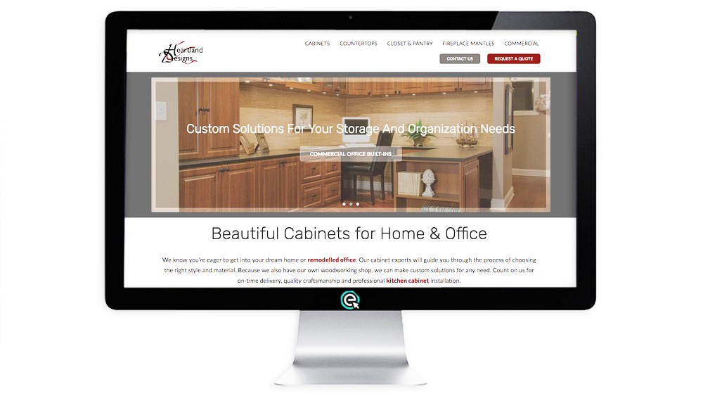 Website Builder for Cabinet Builders