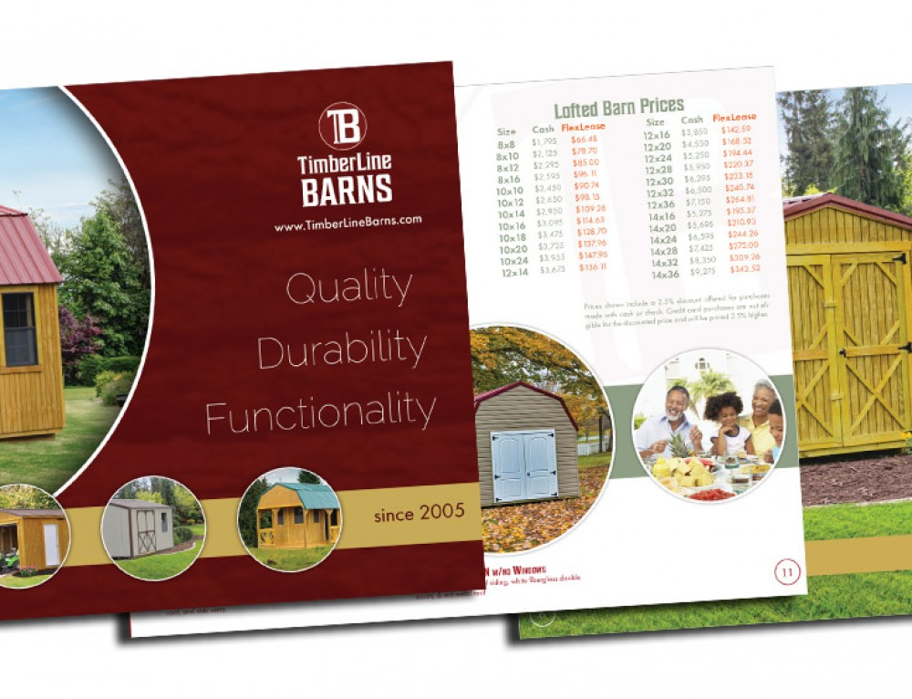 Timberline Barns Brochure