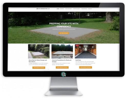 Site Preparations Website