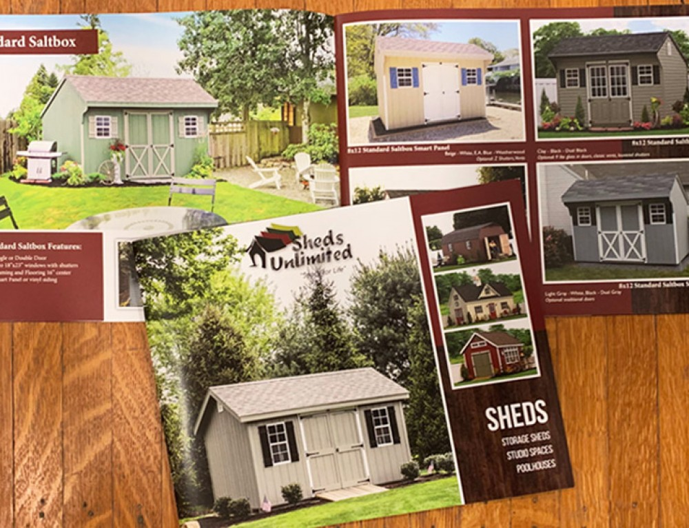 Sheds Unlimited Shed Catalog